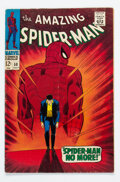 Silver Age (1956-1969):Superhero, The Amazing Spider-Man #50 (Marvel, 1967) Condition: VG....