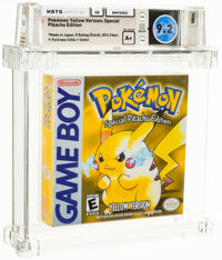 Pokemon Yellow Version: Special Pikachu Edition - Wata 9.2 A+ Sealed [Solid ESRB, Later Production], GB Nintendo 1999 US...
