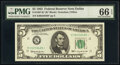 Small Size:Federal Reserve Notes, Fr. 1967-K* $5 1963 Federal Reserve Star Note. PMG Gem Unc...