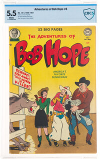 The Adventures of Bob Hope #6 (DC, 1950) CBCS FN- 5.5 White pages