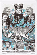 Movie Posters:Action, Big Trouble in Little China, 11/40 by Tyler Stout (Mondo, 2007). Near Mint. Hand Signed and Numbered Limited Edition Screen ...