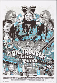 Big Trouble in Little China, 11/40 by Tyler Stout (Mondo, 2007). Near Mint. Hand Signed and Numbered Limited Edition Scr...