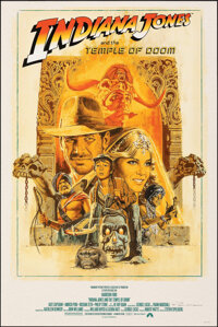 Indiana Jones and the Temple of Doom, AP 17/22 by Paul Mann (Paul Mann, 2020). Mint. Hand Numbered and Signed Artist's P...