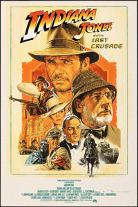 Indiana Jones and the Last Crusade, AP 17/22 by Paul Mann (Paul Mann, 2020). Mint. Hand Signed and Numbered Artist's Pro...