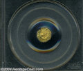 California Fractional Gold: , 1872 Indian Octagonal 25 Cents, BG-791, R.3, MS61 PCGS. ...