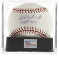 Autographs:Baseballs, Dave Winfield Single Signed Baseball PSA Gem Mint 10. One of the most talented baseball players over the course of his 22 s...