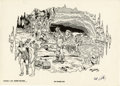 Original Comic Art:Miscellaneous, Robert Williams - Portfolio of Underground Art Signed Print (Schanes and Schanes, 1980)....