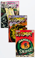 Silver Age (1956-1969):War, G.I. Combat Group of 15 (DC, 1961-64) Condition: Average GD/VG.... (Total: 15 Comic Books)
