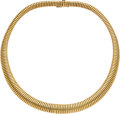 Estate Jewelry:Necklaces, Gold Necklace, French . ...