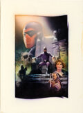 Movie Posters:Action, The Phantom by Drew Struzan (Paramount, 1996). Very Fine+. Signed Original Mixed Media Concept Artwork on Illustration Board...