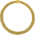 Estate Jewelry:Necklaces, Tiffany & Co. Gold Necklace Metal: 18k gold