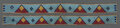 American Indian Art:Beadwork and Quillwork, A Pair of Sioux Beaded Hide Legging Strips... (Total: 2 )
