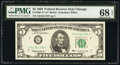 Small Size:Federal Reserve Notes, Fr. 1967-G* $5 1963 Federal Reserve Star Note. PMG Superb ...