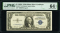 Small Size:Silver Certificates, Fr. 1617* $1 1935G With Motto Silver Certificate Star. PMG Choice Uncirculated 64 EPQ.. ...