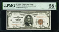 Small Size:Federal Reserve Bank Notes, Fr. 1850-B $5 1929 Federal Reserve Bank Note. PMG Choice A...