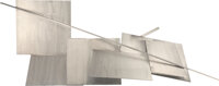 Anthony Caro (1924-2013) Stainless Piece L, 1974-75 Stainless steel 14 x 64 x 33 inches (35.6 x 162.6 x 83.8 cm)