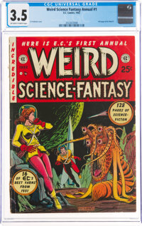 Weird Science-Fantasy Annual #1 (EC, 1952) CGC VG- 3.5 Off-white to white pages