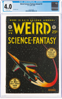 Weird Science-Fantasy Annual #2 (EC, 1953) CGC VG 4.0 Off-white pages