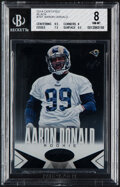 Football Cards:Singles (1970-Now), 2014 Certified Aaron Donald (Black) #101 BGS NM-MT 8 - #1/1. ...