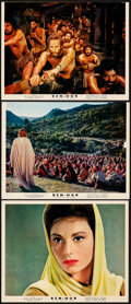 """Movie Posters:Academy Award Winners, Ben-Hur & Other Lot (MGM, 1959). Overall: Fine/Very Fine. Photo (8"""" X 10""""), Trimmed Photos (2) (Approx. 7.75"""" X 10""""), Deluxe... (Total: 13 Items)"""