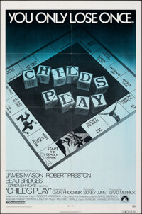 """Child's Play (Paramount, 1973). Folded, Very Fine. One Sheet (27"""" X 41""""). Mystery"""