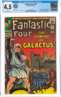 Fantastic Four #48 (Marvel, 1966) CGC VG+ 4.5 White pages