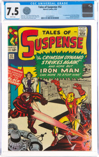 Tales of Suspense #52 (Marvel, 1964) CGC VF- 7.5 White pages