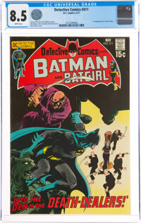 Detective Comics #411 (DC, 1971) CGC VF+ 8.5 White pages