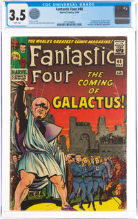 Fantastic Four #48 (Marvel, 1966) CGC VG- 3.5 White pages