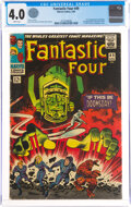 Silver Age (1956-1969):Superhero, Fantastic Four #49 (Marvel, 1966) CGC VG 4.0 White pages....
