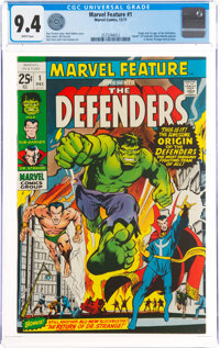 Marvel Feature #1 The Defenders (Marvel, 1971) CGC NM 9.4 White pages