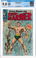 Silver Age (1956-1969):Superhero, The Sub-Mariner #1 (Marvel, 1968) CGC VF/NM 9.0 White pages....
