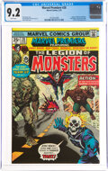 Bronze Age (1970-1979):Superhero, Marvel Premiere #28 The Legion of Monsters (Marvel, 1976) CGC NM- 9.2 White pages....