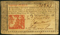 Colonial Notes:New Jersey, New Jersey March 25, 1776 18d Very Fine.. ...
