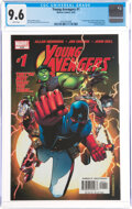 Modern Age (1980-Present):Superhero, Young Avengers #1 (Marvel, 2005) CGC NM+ 9.6 White pages....