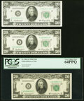 Small Size:Federal Reserve Notes, Fr. 2062-L $20 1950C Federal Reserve Note. PCGS Very Choic...