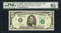 Small Size:Federal Reserve Notes, Fr. 1971-H $5 1969B Federal Reserve Note. PMG Gem Uncircul...