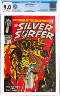 Silver Age (1956-1969):Superhero, The Silver Surfer #3 (Marvel, 1968) CGC VF/NM 9.0 White pages....