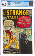 Silver Age (1956-1969):Superhero, Strange Tales #110 (Marvel, 1963) CGC FN+ 6.5 White pages....