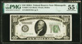 Small Size:Federal Reserve Notes, Fr. 2001-I $10 1928A Federal Reserve Note. PMG About Uncir...