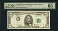 Small Size:Federal Reserve Notes, Fr. 1971-F $5 1969B Federal Reserve Note. PMG Gem Uncircul...