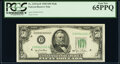 Small Size:Federal Reserve Notes, Fr. 2107-D $50 1950 Mule Federal Reserve Note. PCGS Gem Ne...