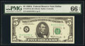 Small Size:Federal Reserve Notes, Fr. 1970-K $5 1969A Federal Reserve Note. PMG Gem Uncircul...
