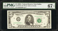 Small Size:Federal Reserve Notes, Fr. 1970-K* $5 1969A Federal Reserve Star Note. PMG Superb...