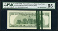 Error Notes:Ink Smears, Green Ink Smears on Back Error Fr. 2175-B $100 1996 Federal Reserve Note. PMG About Uncirculated 55 EPQ.. ...