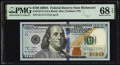 Small Size:Federal Reserve Notes, Near Solid Serial Number 11111115 Fr. 2187-E $100 2009A Federal Reserve Note. PMG Superb Gem Unc 68 EPQ.. ...