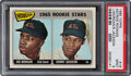 Baseball Cards:Singles (1960-1969), 1965 Topps Joe Morgan - Astros Rookie Stars #16 PSA Mint 9 - Only Two Higher....