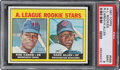 Baseball Cards:Singles (1960-1969), 1967 Topps Rod Carew - A.L. Rookies #569 PSA Mint 9 - Only One Higher!...