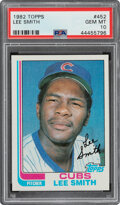 Baseball Cards:Singles (1970-Now), 1982 Topps Lee Smith #452 PSA Gem Mint 10. Offered...