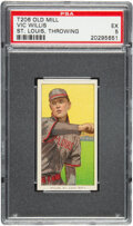 Baseball Cards:Singles (Pre-1930), 1909-11 T206 Old Mill Vic Willis (Throwing) PSA EX 5 - Only Three Higher for Brand. ...